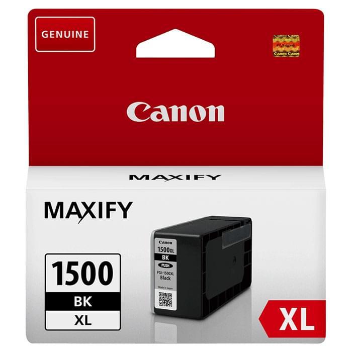 Cartouche PGI-1500XL Noir - 9182B001 pour imprimante Jet d'encre Canon - 0