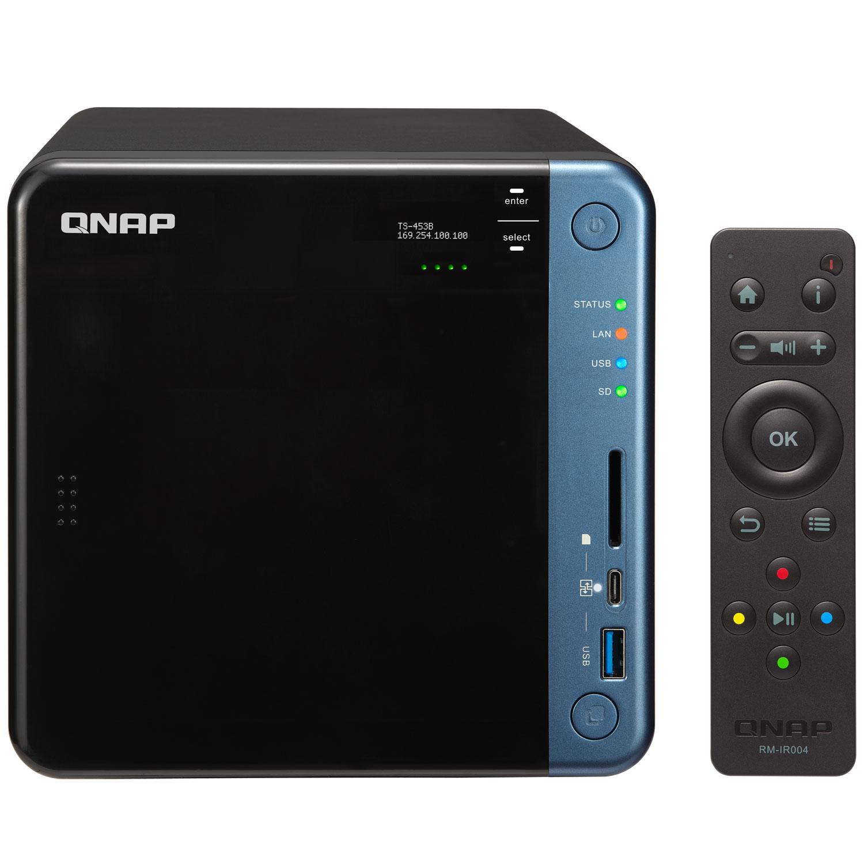 Qnap TS-453B-8G - 4 HDD - Serveur NAS Qnap - Cybertek.fr - 0