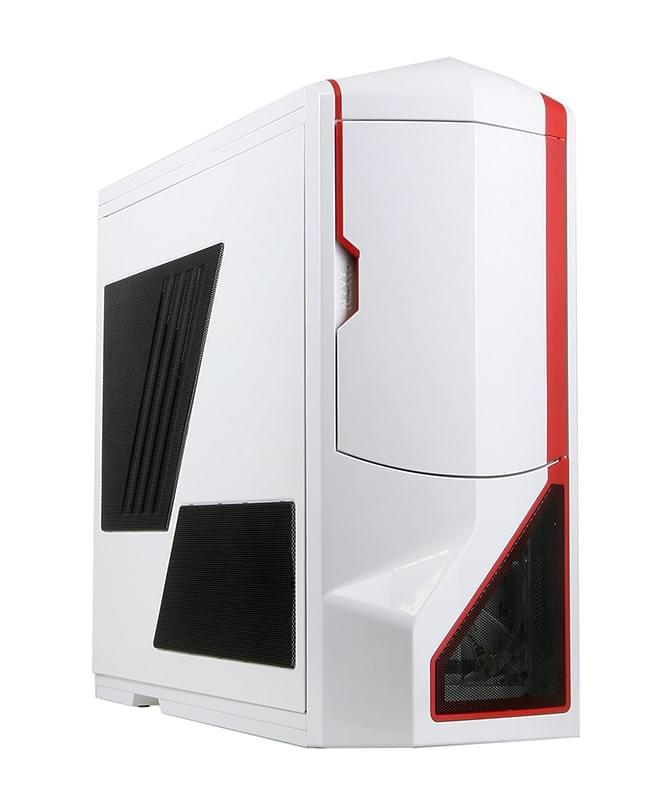 NZXT Phantom White/Red (PHAN-003RD soldé) - Achat / Vente Boîtier PC sur Cybertek.fr - 0