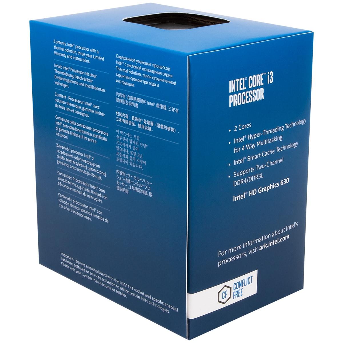 Intel Core i3 7100 - 3.9GHz - Processeur Intel - Cybertek.fr - 1