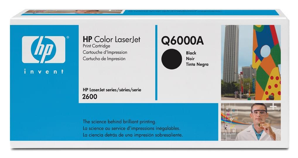 Toner Q6000A Noir (LaserJet 2600) pour imprimante Laser HP - 0