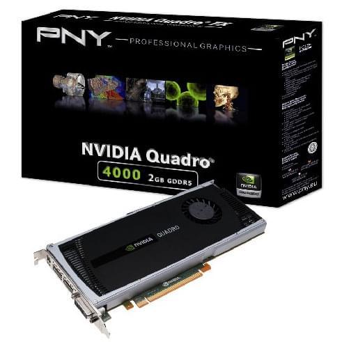 NVidia Quadro 4000 2Go (VCQ4000-PB) - Achat / Vente Carte graphique sur Cybertek.fr - 0