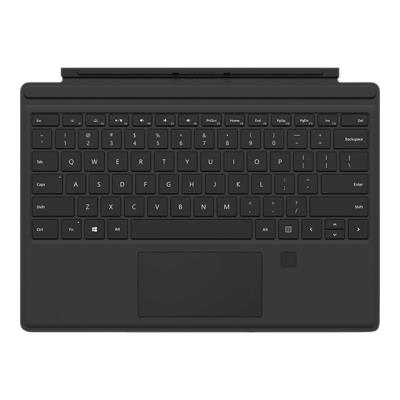 Clavier Type Cover Noir Surface PRO 4 Touch ID - 0