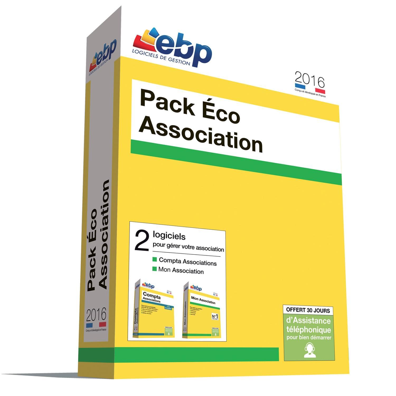 EBP Pack Eco Association 2016 (1166J080FAD) - Achat / Vente Logiciel application sur Cybertek.fr - 0