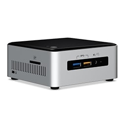 Intel Barebone et Mini PC NUC NUC6I3SYH - i3-6100U/SO-DDR4/M2+SATA/HDMI/mDP Cybertek