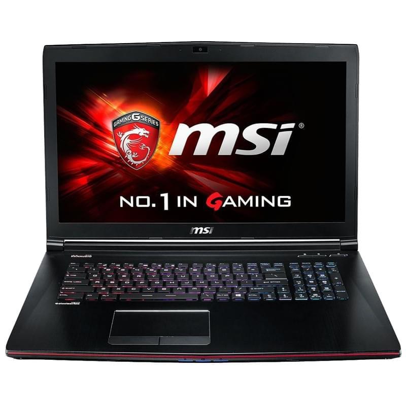 "MSI GE72 2QF-064X -i7-4720/8Go/128G+1T/GTX970/17.3""/FD (9S7-179111-064) - Achat / Vente PC portable sur Cybertek.fr - 0"