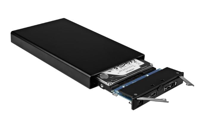 """Icy Box USB2.0/eSATA pour DD 2.5"""" SATA+Station -290STUSD-B (IB-290STUSD-B soldé) - Achat / Vente Boîtier externe sur Cybertek.fr - 0"""