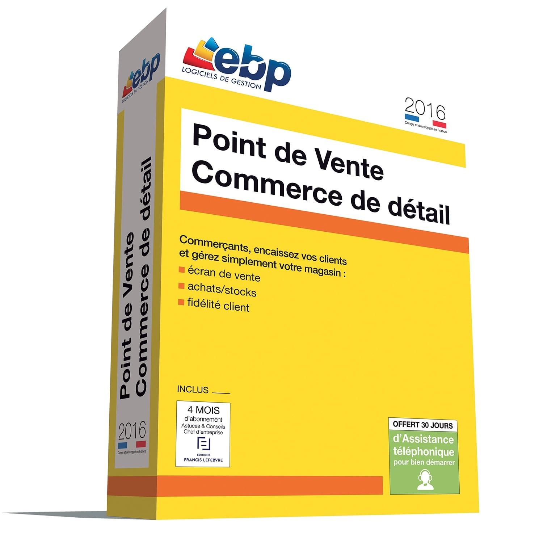EBP Point de Vente 2016 Version Commerce de détail monoposte (1012P200FAB) - Achat / Vente Logiciel Application sur Cybertek.fr - 0