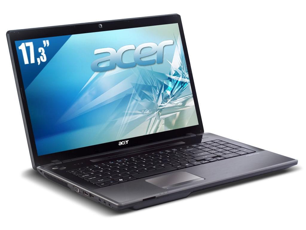 "Acer 7750G-2334G50Mn Bleu -i3-2330/4Go/500Go/6650/17.3"" (LX.RMM02.004) - Achat / Vente PC Portable sur Cybertek.fr - 0"