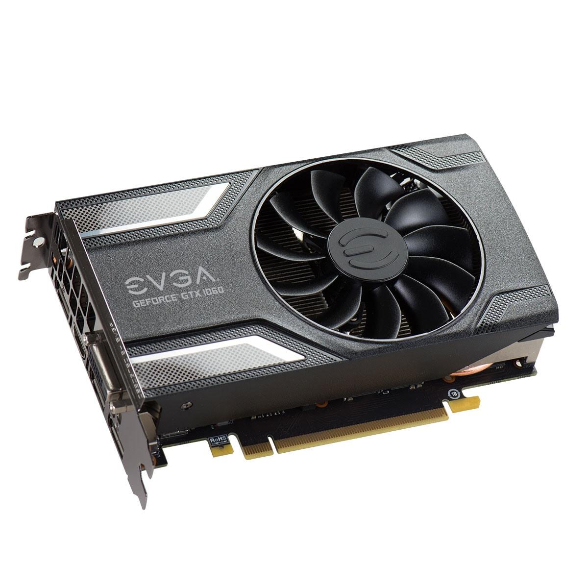 EVGA GTX 1060 SC Gaming 6163 6Go - Carte graphique EVGA - 4
