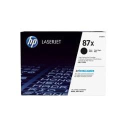 Toner 87X Noir 18000 pages - CF287X pour imprimante Laser HP - 0