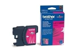 Consommable imprimante Brother Cartouche LC1100M Magenta