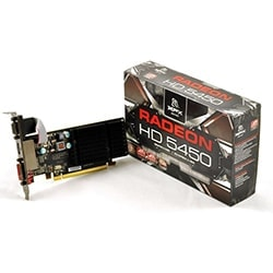 ATI Carte Graphique Radeon HD 5450 - 1Go/DVI/HDMI/PCI-E Cybertek
