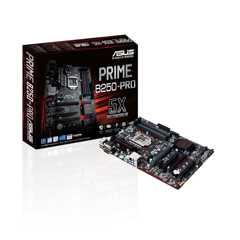 Asus PRIME B250 PRO ATX DDR4 - Carte mère Asus - Cybertek.fr - 0