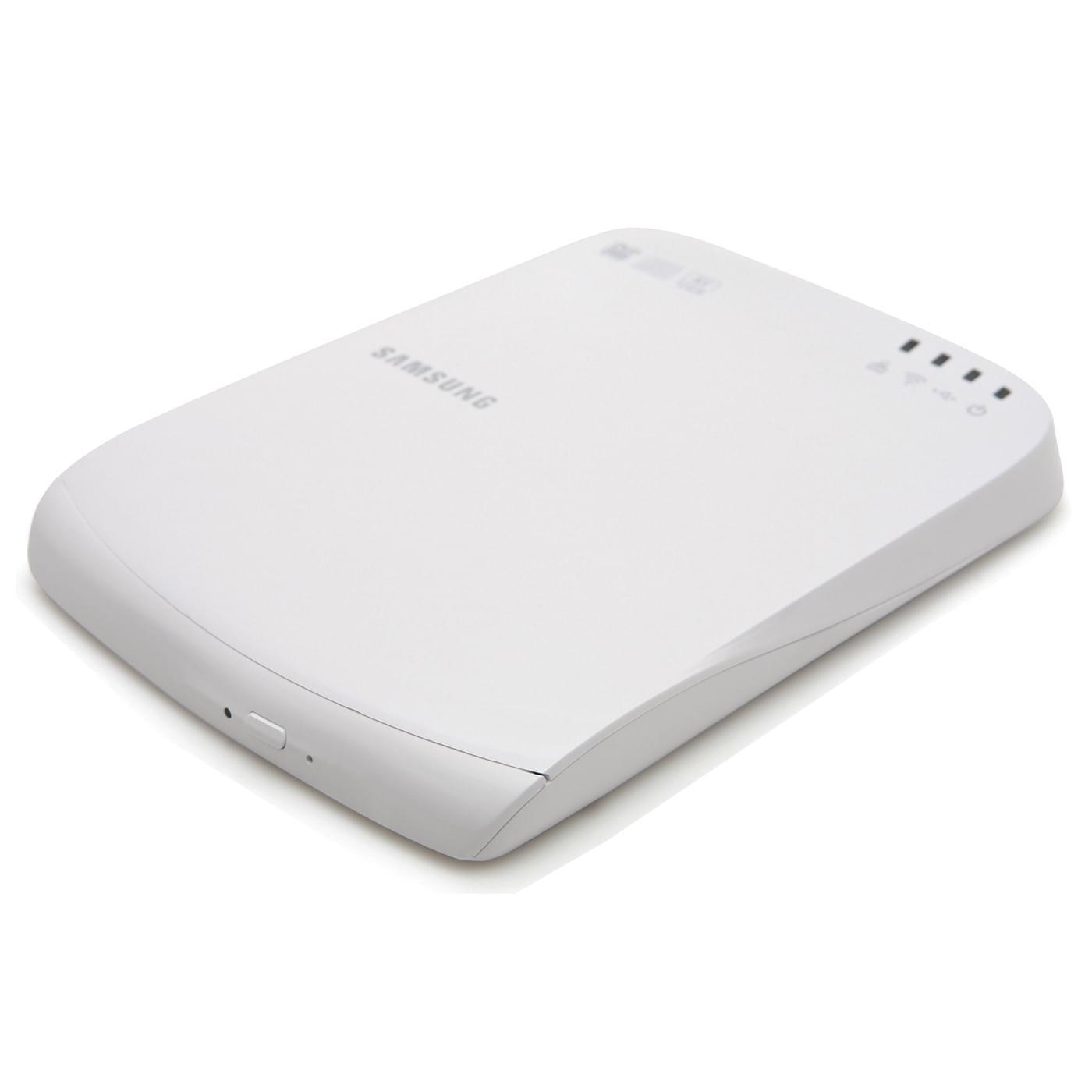 Samsung SE-208BW Externe Slim WiFi Blanc DVD+/-RW 8X DL (SE-208BW/EUWS) - Achat / Vente Graveur sur Cybertek.fr - 0