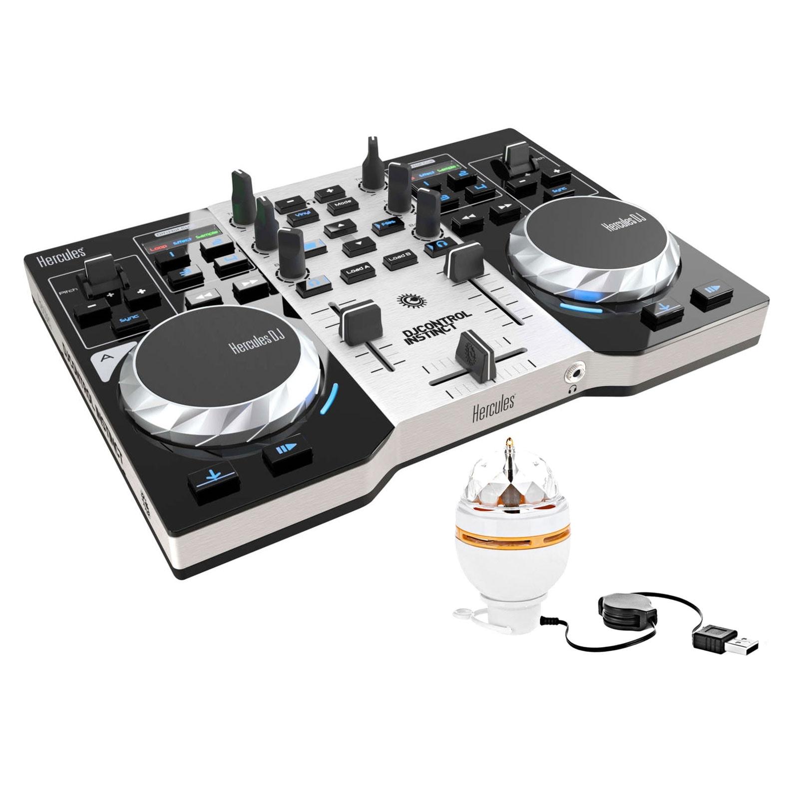 Hercules DJControl Instinct Party Pack - Table de mixage Hercules - 0