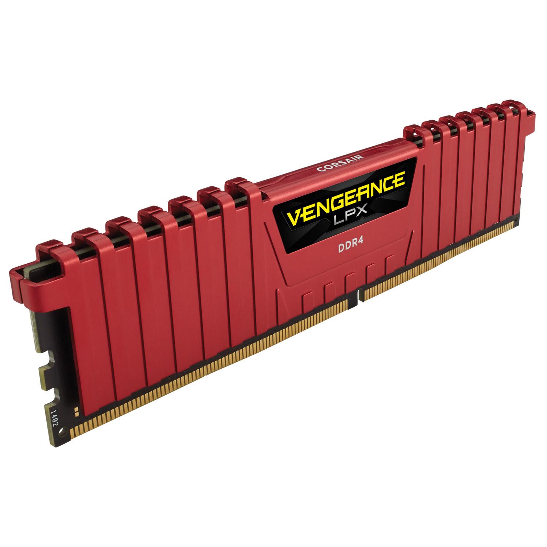 Corsair CMK16GX4M2A2400C16R  16Go DDR4 2400MHz - Mémoire PC - 2