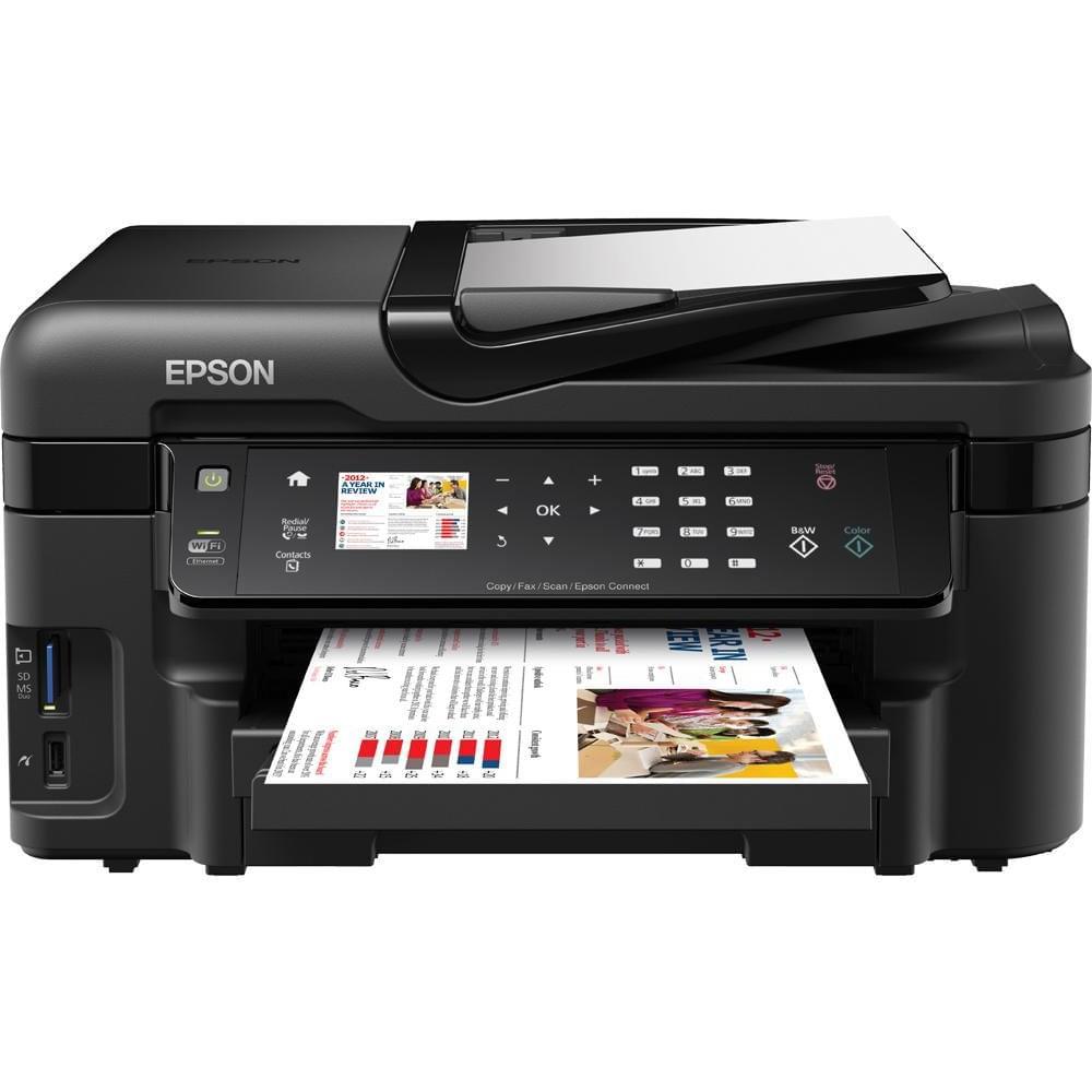 Epson WorkForce WF-3520DWF (C11CC33302) - Achat / Vente Imprimante Multifonction sur Cybertek.fr - 0
