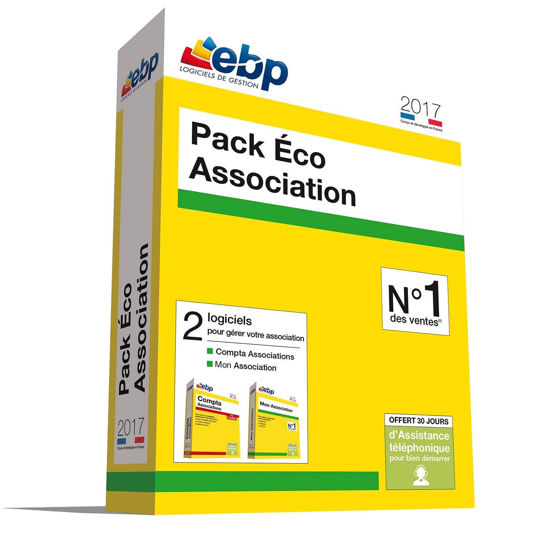 EBP Pack Eco Association 2017 (1166J090FAA) - Achat / Vente Logiciel application sur Cybertek.fr - 0