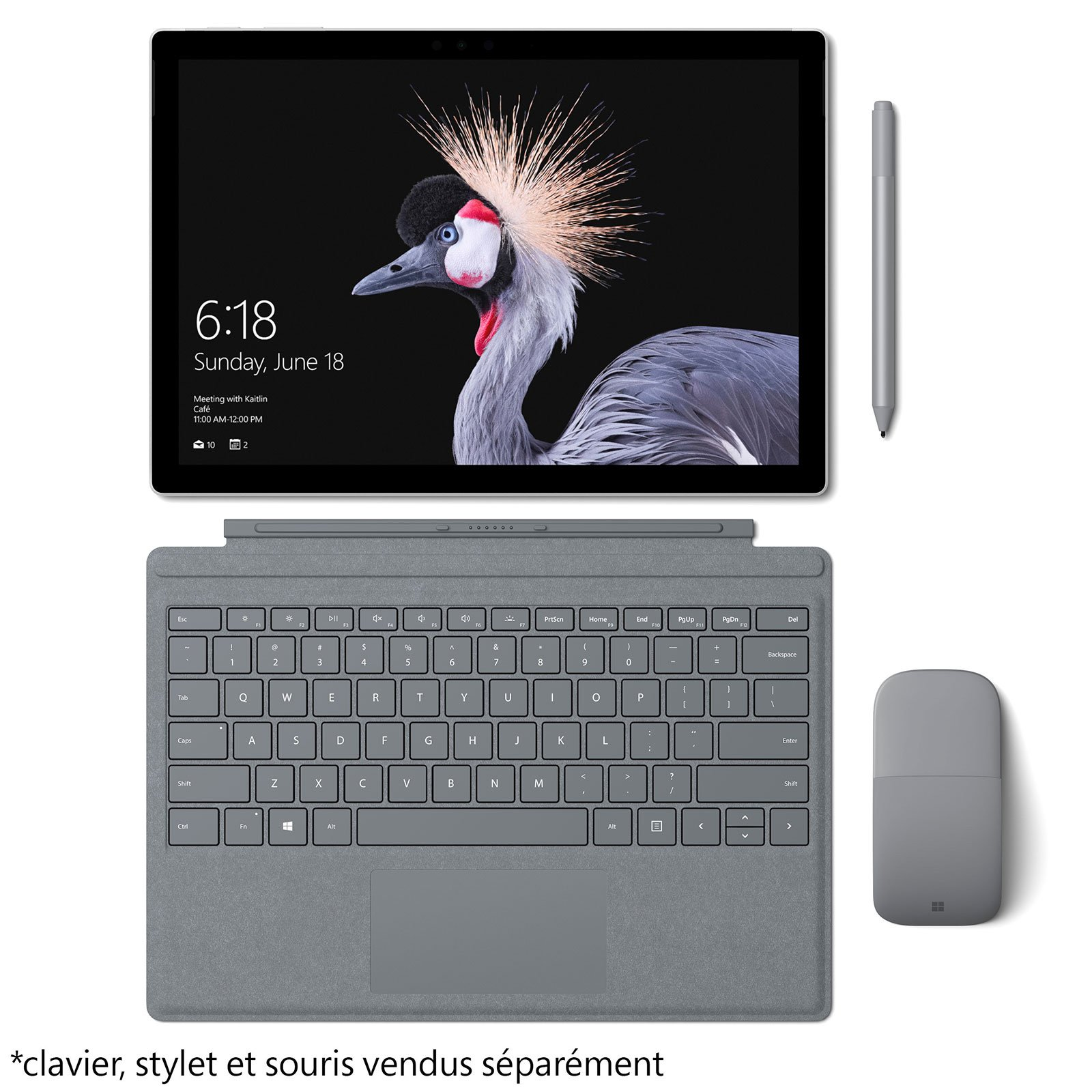 Microsoft Surface Pro 2017 - Tablette tactile Microsoft - 4