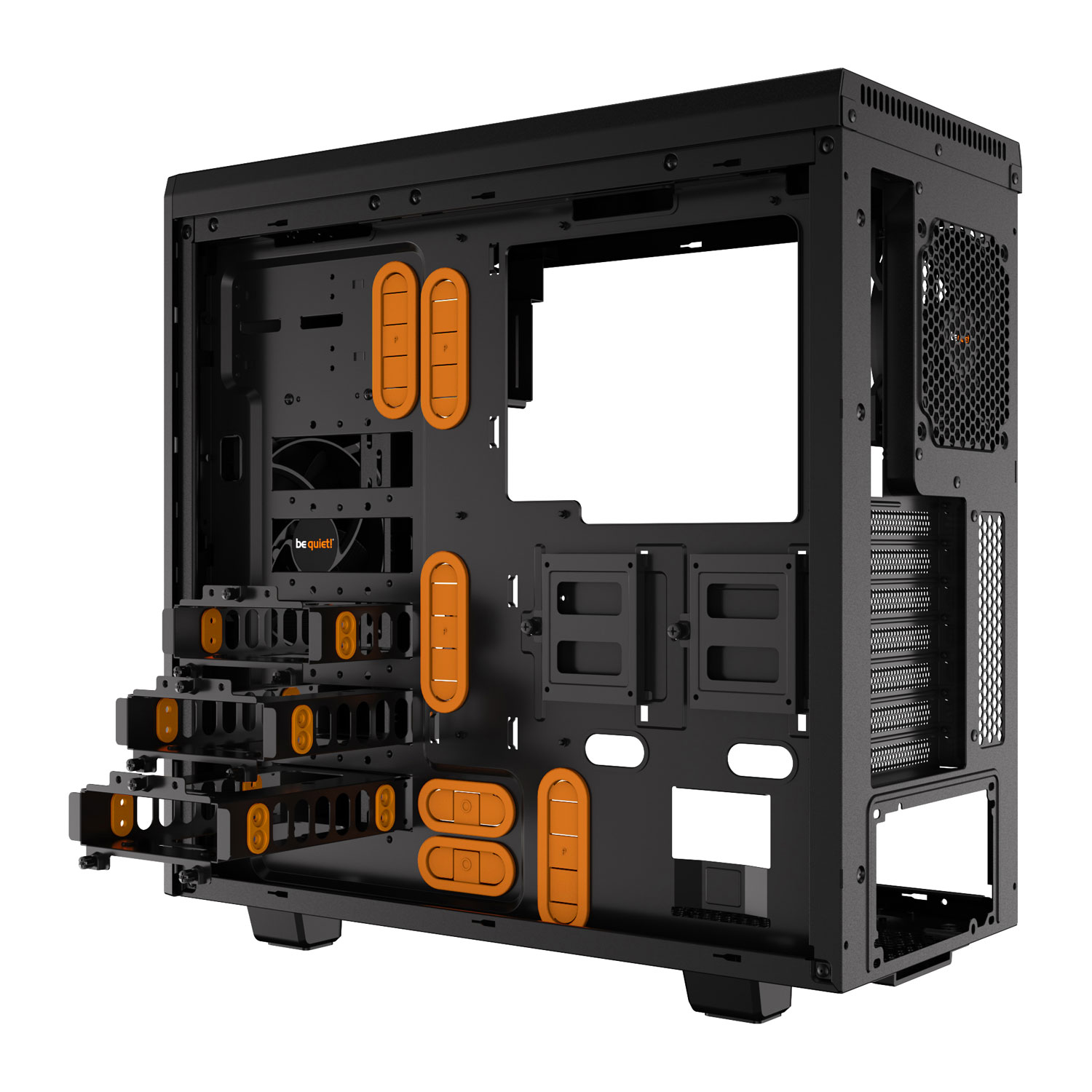 Be Quiet! mT/Ss Alim/ATX Orange - Boîtier PC Be Quiet! - 3