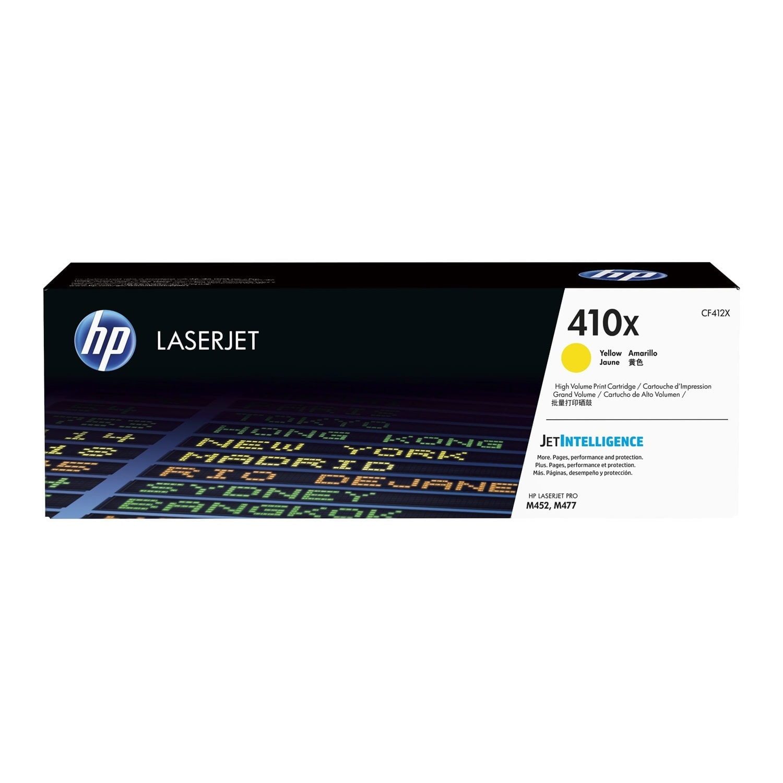 HP Toner Jaune haut rendement 412X - CF412X (CF412X) - Achat / Vente Consommable Imprimante sur Cybertek.fr - 0