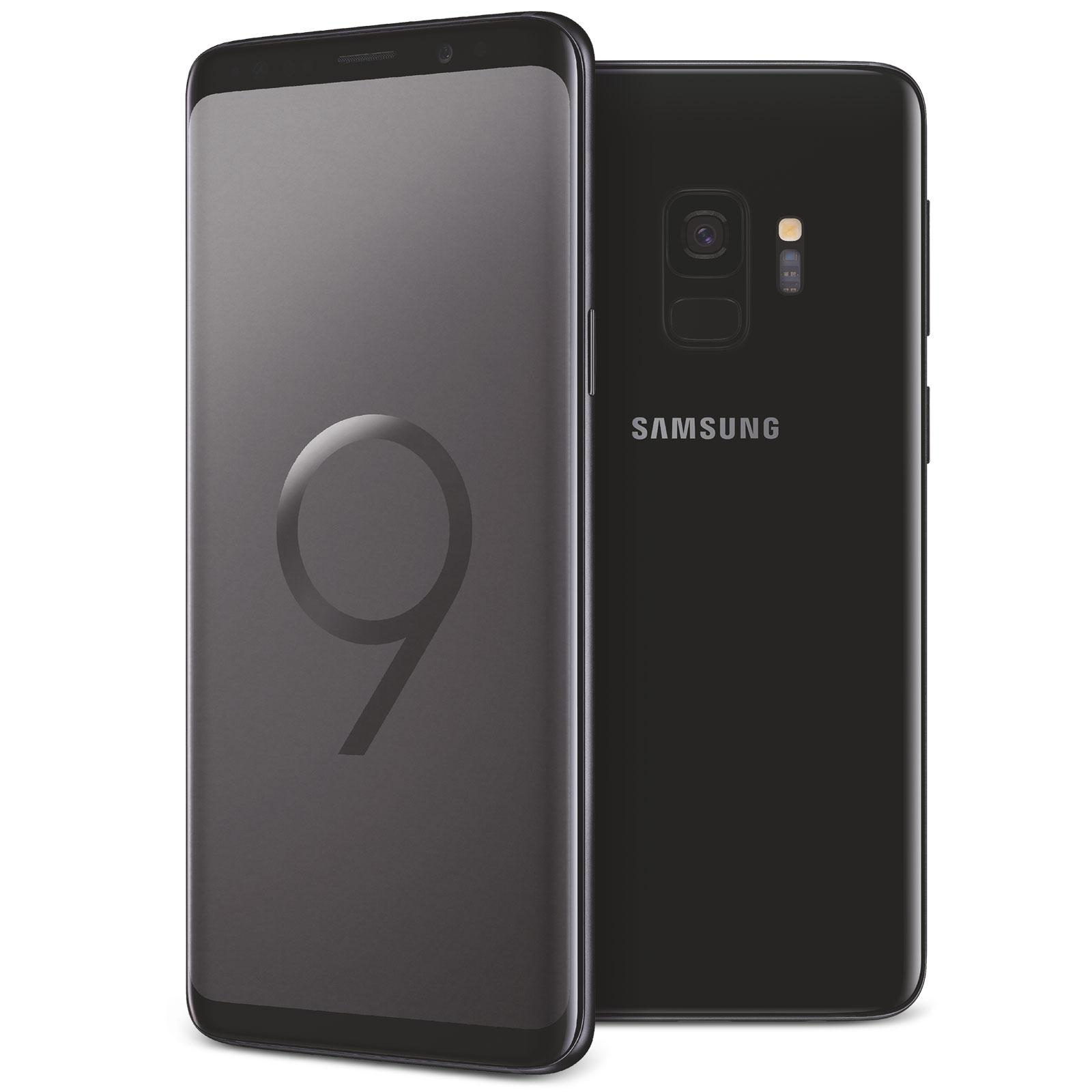 Samsung Galaxy S9 64GB Noir Carbone - Téléphonie Samsung - 0