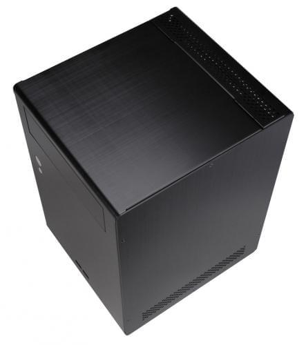 Lian-Li PC-Q07 Noir - Boîtier PC Aluminium - Sans Alim - 0
