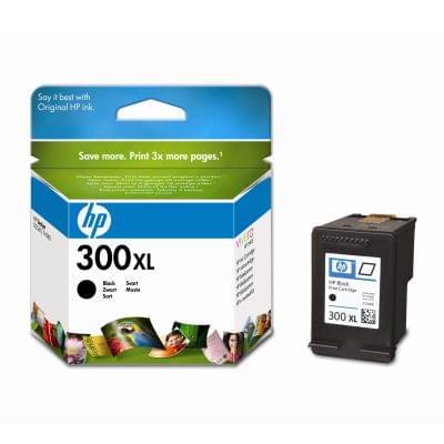 Cartouche 300XL Noir 600p - CC641EE pour imprimante Jet d'encre HP - 0