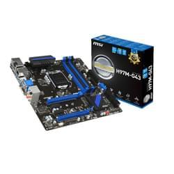 MSI Carte Mère H97M-G43 - H97/LGA1150/CF/DDR3/mATX Cybertek