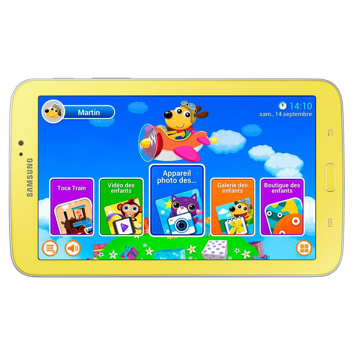 "Samsung Galaxy Tab 3 7"" Kids T2105GYA (SM-T2105GYAXEF soldé) - Achat / Vente Tablette Tactile sur Cybertek.fr - 0"