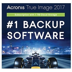 Acronis Logiciel Application True image 2017 Cybertek