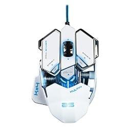 Bluestork Souris PC KULT 4 WHITE ED. 3500dpi/Rétroéclairé/10 boutons Cybertek