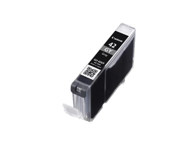 Cartouche CLI-42 GY Gris - 6390B001 pour imprimante Jet d'encre Canon - 0