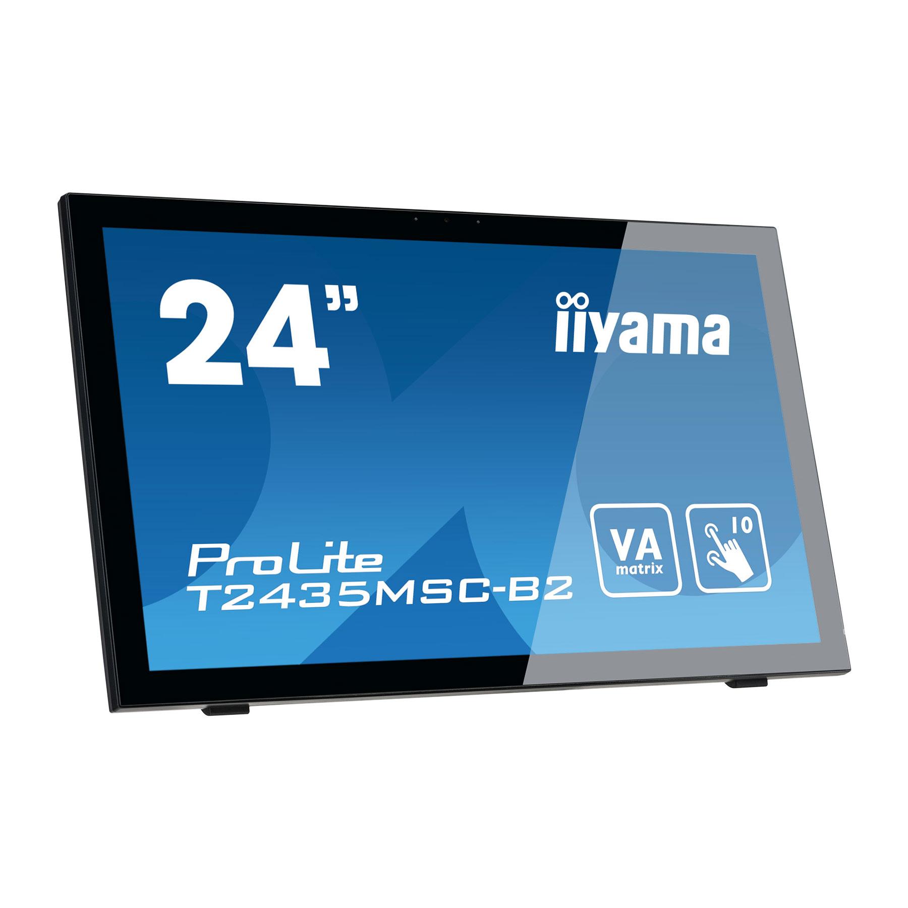 "Iiyama 24""  T2435MSC-B2 - Ecran PC Iiyama - Cybertek.fr - 1"