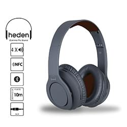 Heden Micro-casque PRO Sound Noir - Bluetooth+Fil./recharge./NFC/4HP Cybertek
