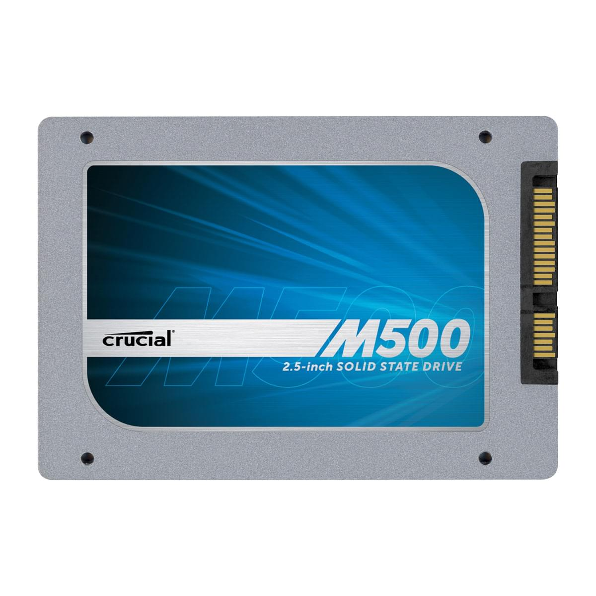 Crucial 960Go SSD M500 CT960M500SSD1 SATA 6 960Go-1To - Disque SSD - 0