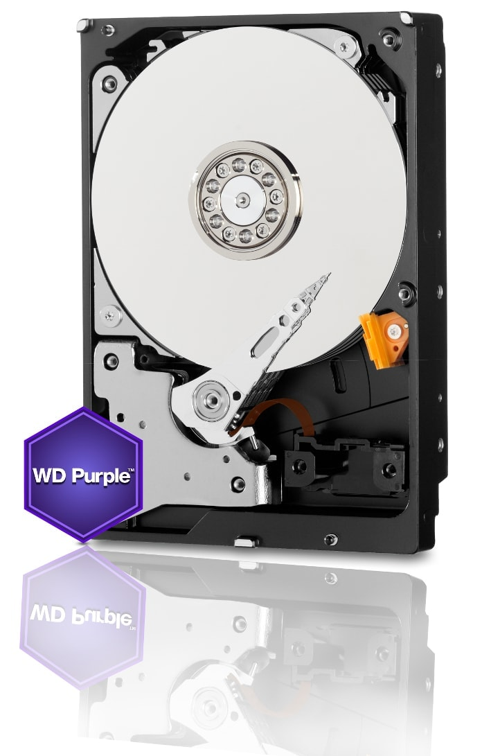 "WD 6To Purple SATA III 7200Tr 64MO (WD60PURX) - Achat / Vente Disque dur interne 3.5"" sur Cybertek.fr - 0"