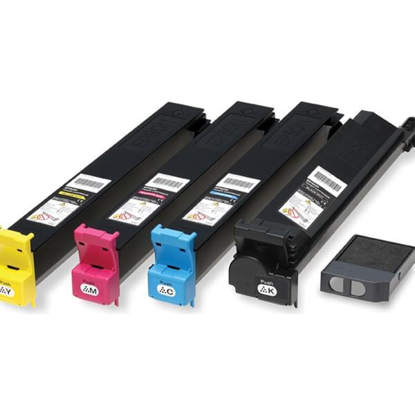 Toner Jaune C13S050474 - 14000p pour imprimante Laser Epson - 0