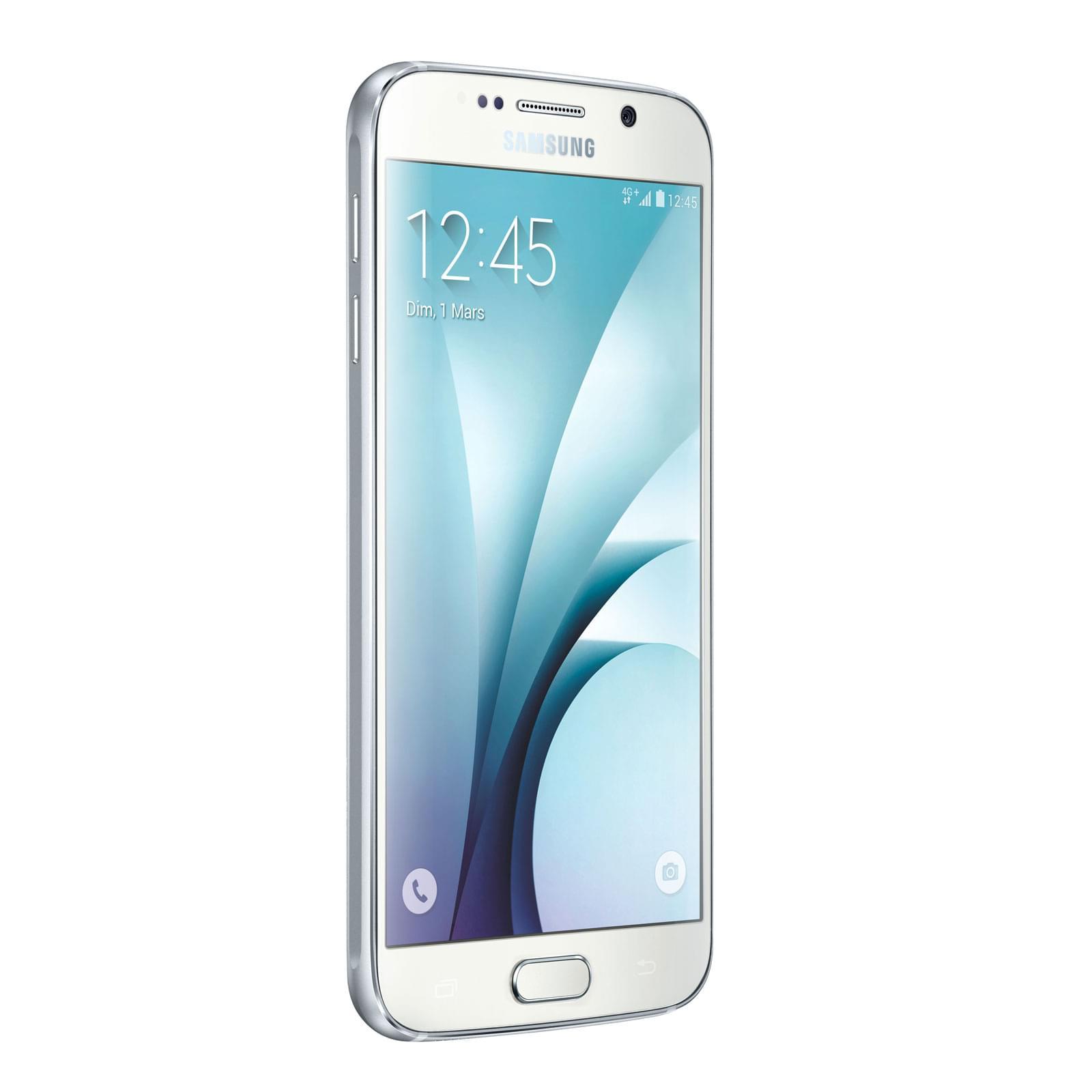Samsung Galaxy S6 32Gb White G920F (SM-G920FZWAXEF) - Achat / Vente Téléphonie sur Cybertek.fr - 0