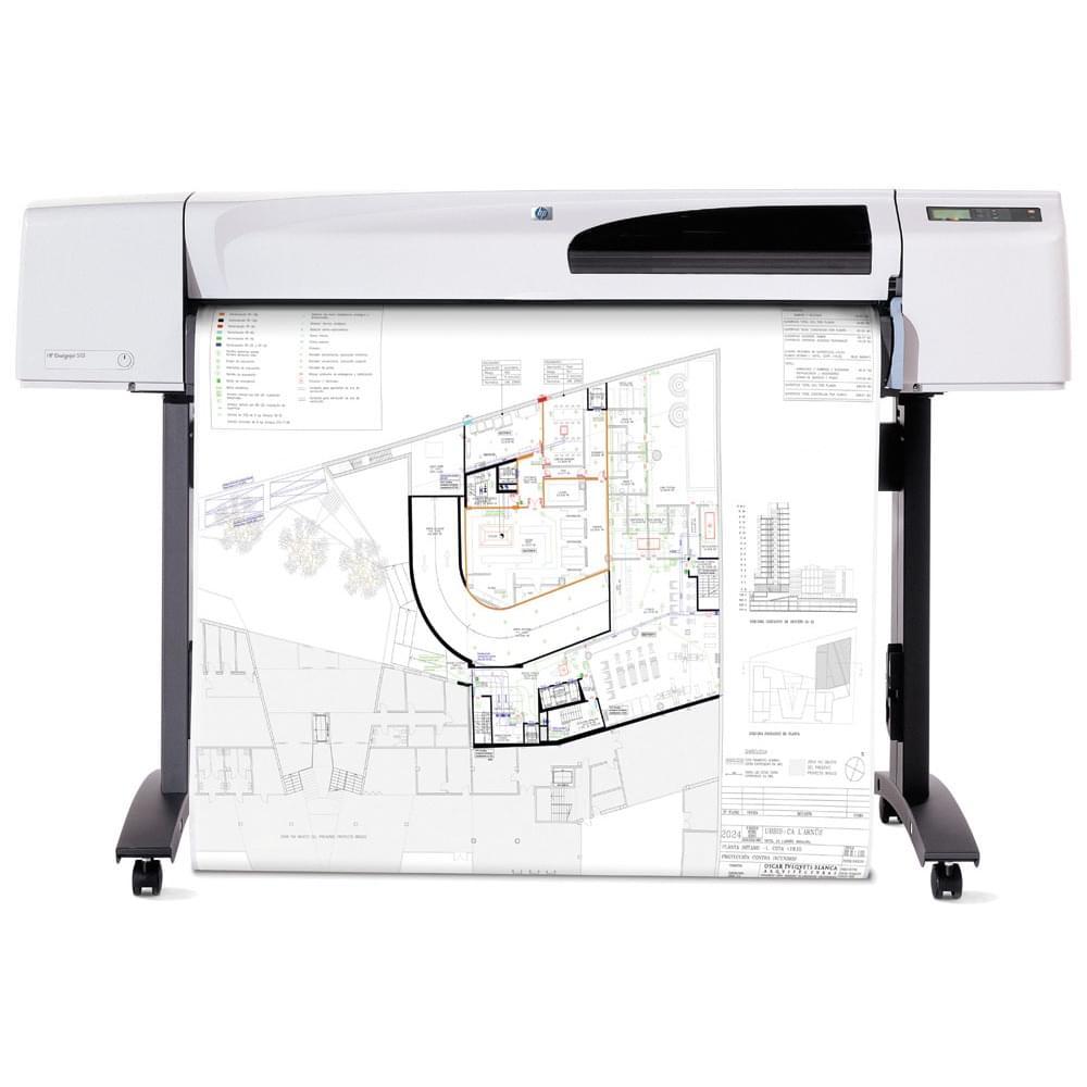"""HP DesignJet 510 42"""" (CH337A#B19) - Achat / Vente Imprimante sur Cybertek.fr - 0"""