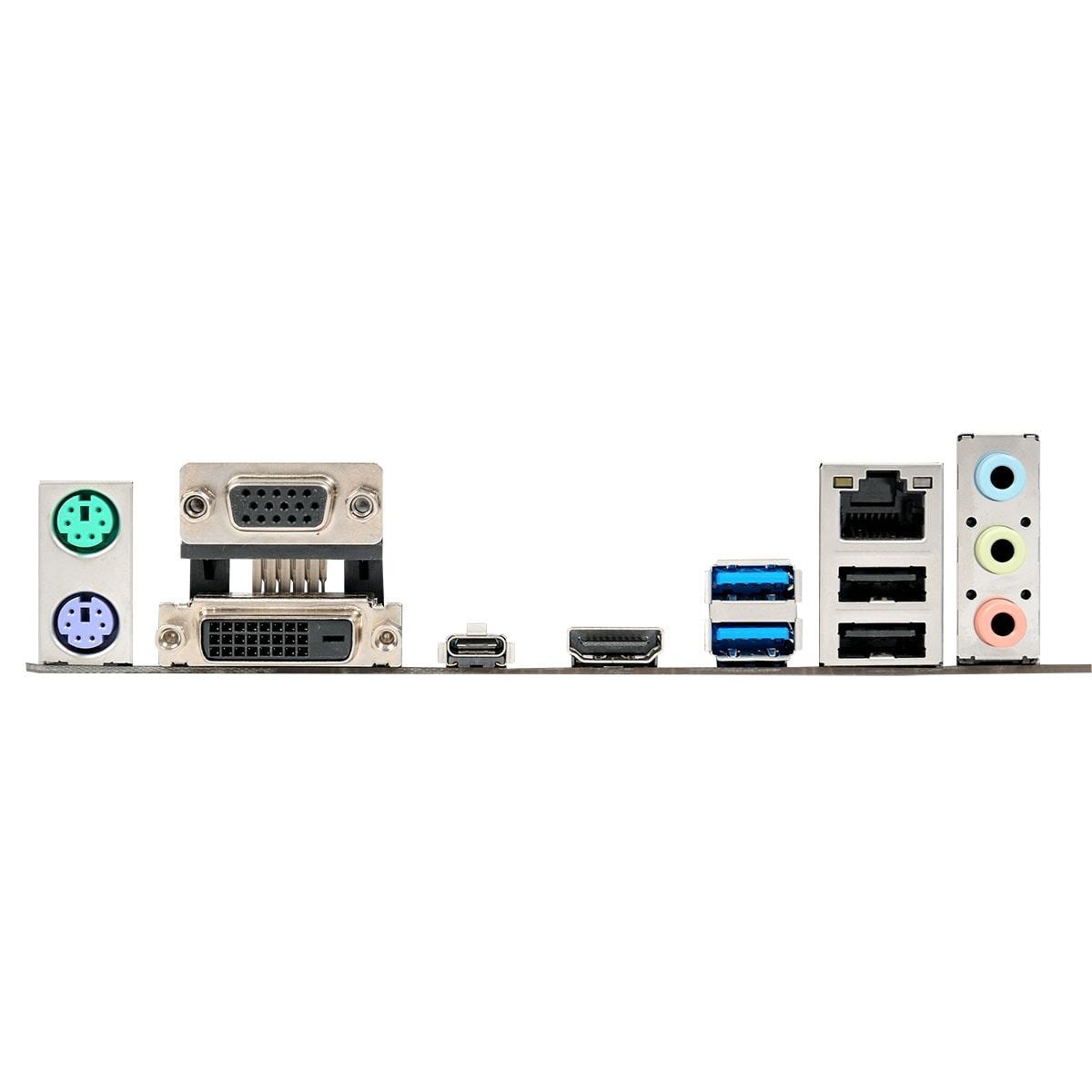 Asus PRIME Z270M-PLUS Micro-ATX DDR4 - Carte mère Asus - 4