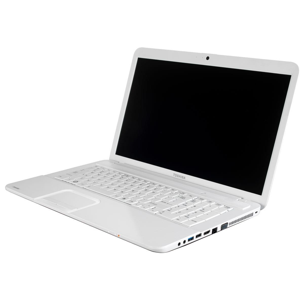 Toshiba C870-15F Blanc (PSC8EE-017006FR) - Achat / Vente PC Portable sur Cybertek.fr - 0