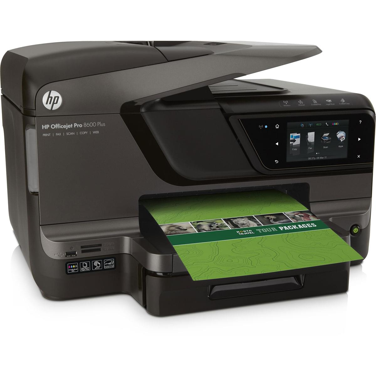 HP OfficeJet PRO 8600 Plus e-All-in-One (CM750A#BEL) - Achat / Vente Imprimante Multifonction sur Cybertek.fr - 0