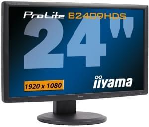 Iiyama PLE2409HDS-B1 (PLE2409HDS-B1 obso) - Achat / Vente Ecran PC sur Cybertek.fr - 0