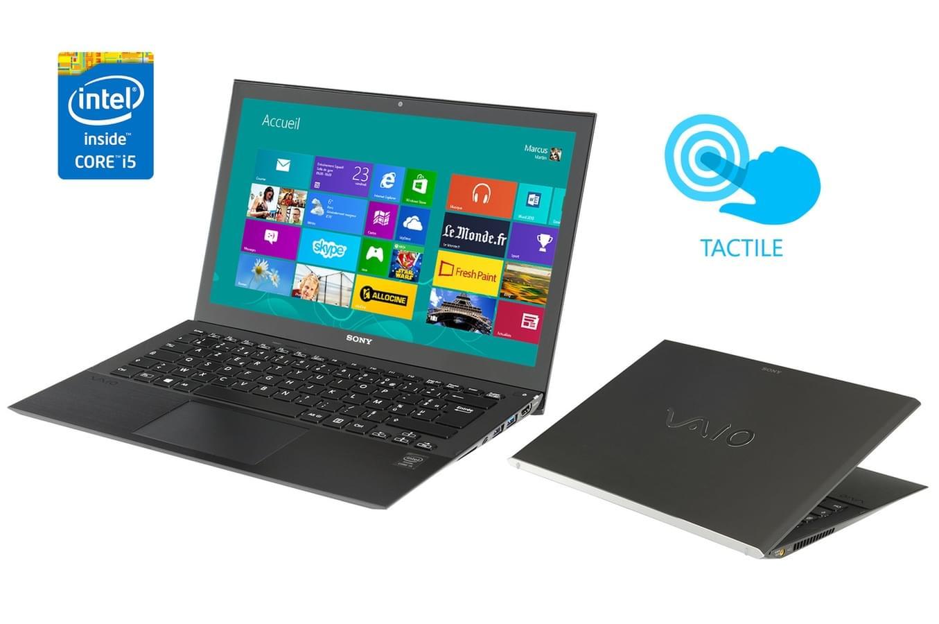 Sony SVP1321S2E (SVP1321S2EB.FR5) - Achat / Vente PC Portable sur Cybertek.fr - 0