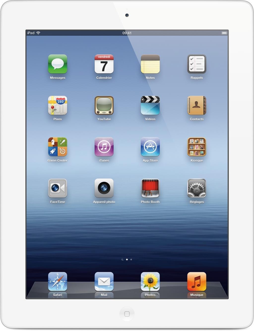 Apple iPad 3 16Go WiFi Blanc - Tablette tactile Apple - 0