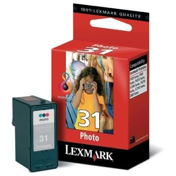 Cartouche Photo N°31 - 018C0031E pour imprimante Jet d'encre Lexmark - 0