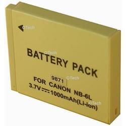 Compatible Batterie Canon pour APN NB-6LH 1000mAh - NC-BP678-1000 Cybertek