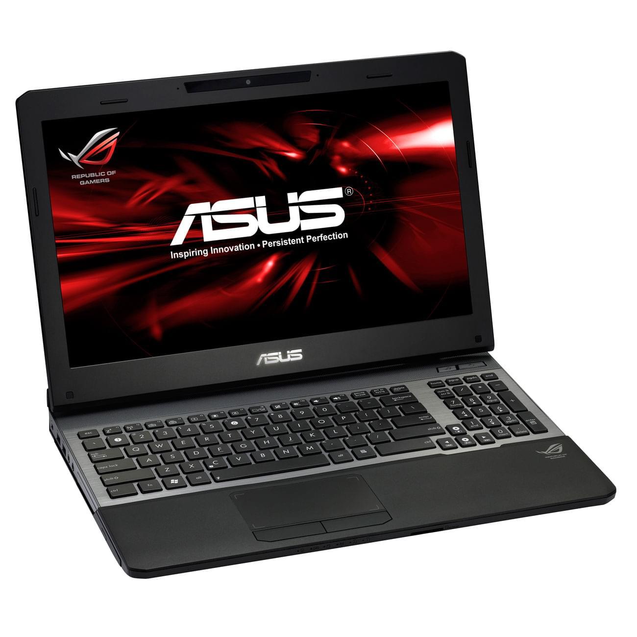 Asus G55VW-S1129V (G55VW-S1129V) - Achat / Vente PC Portable sur Cybertek.fr - 0